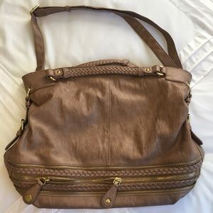 Urban Expressions Bags - Oversized Tan Bag